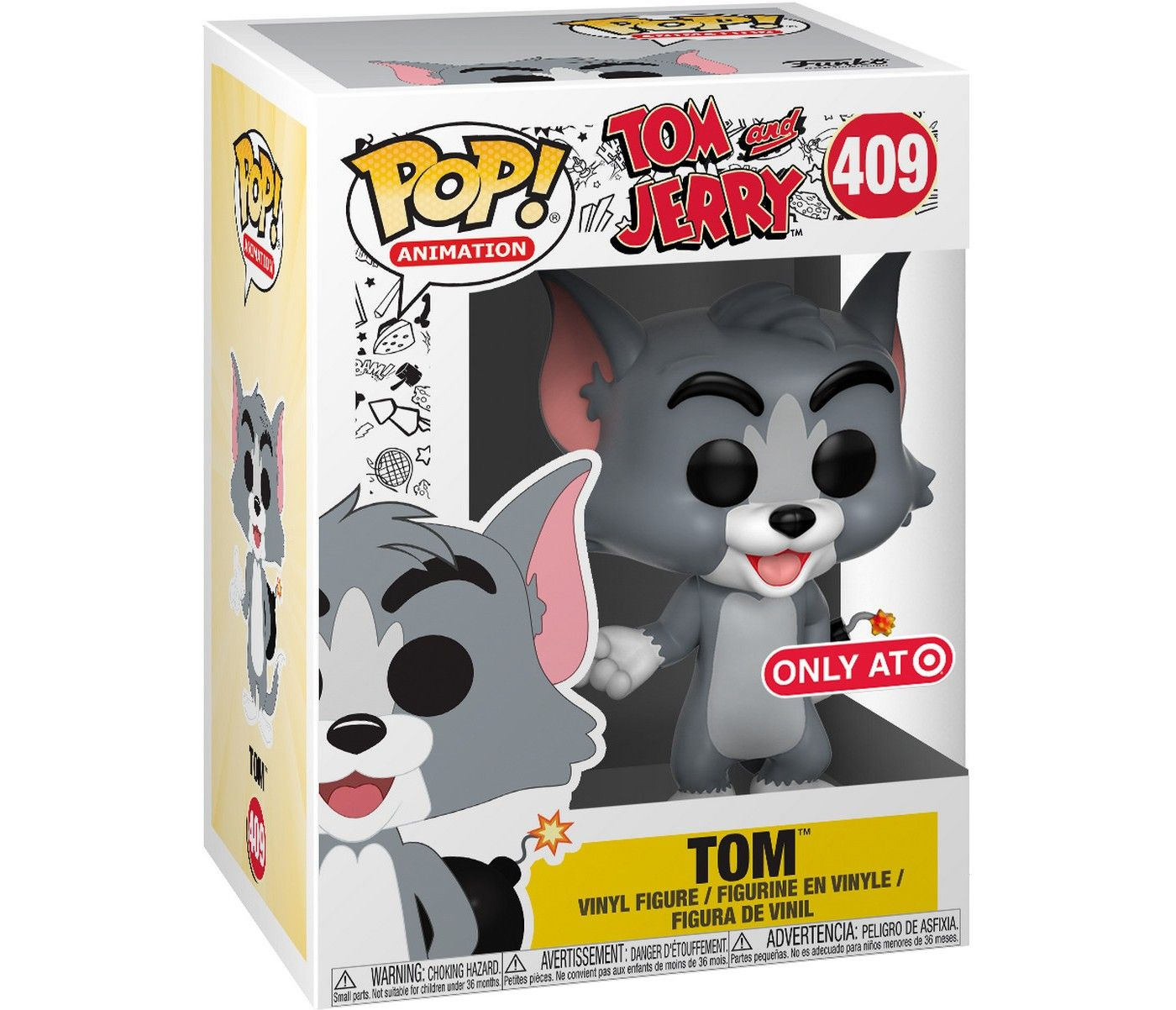 Jerry Tom and Jerry S1 Funko POP Animation