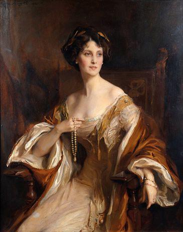 Philip de László (Hungarian 1869-1937)     ~ Winifred, Duchesse of Portland, 1912