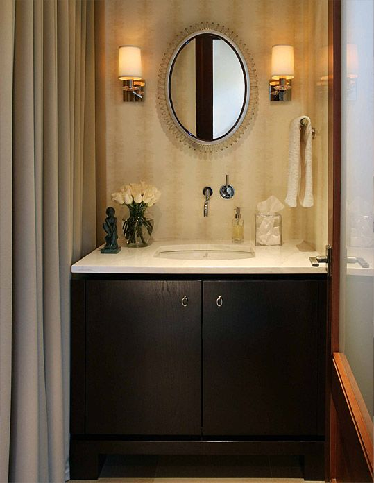 Powder Room Decorating Tips powder room design. houzz powder room with white walls design