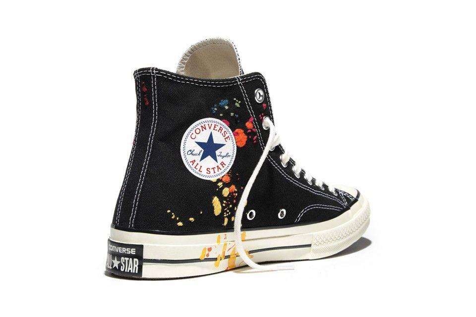 Wearable art. The Converse Chuck Taylor All Star '70 x