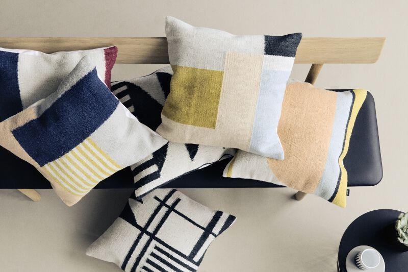 kissen maya ferm living sch ner wohnen shop das maya kissen ist eine cojines pinterest. Black Bedroom Furniture Sets. Home Design Ideas