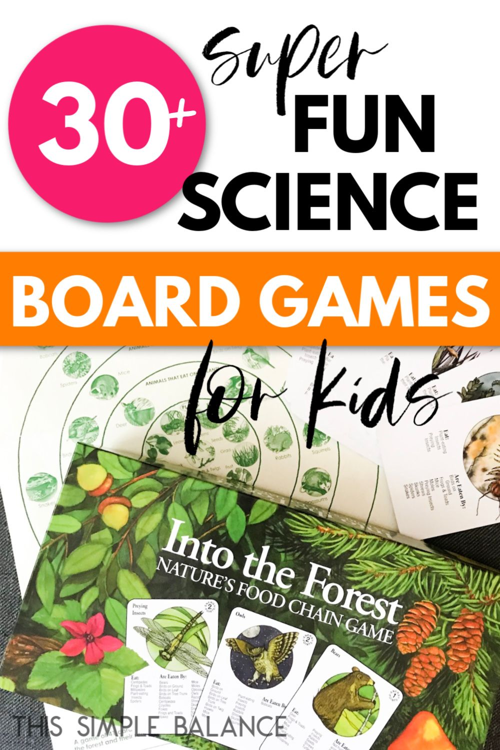 The Science Of Getting Kids Organized >> 33 Science Board Games For Kids Organized By Age Level Science