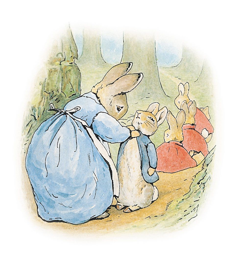 Illustration to The Tale of Peter Rabbit, 1902 | Beatrix Potter ...