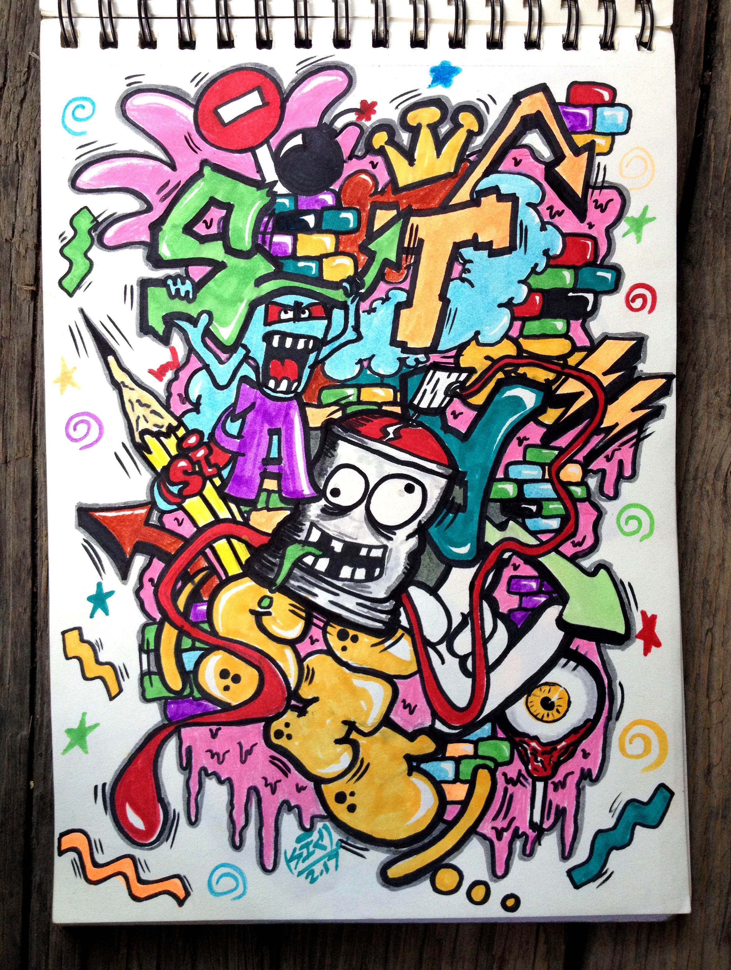 Graffiti, Sketchbooks, Sketch Books, Graffiti Artwork