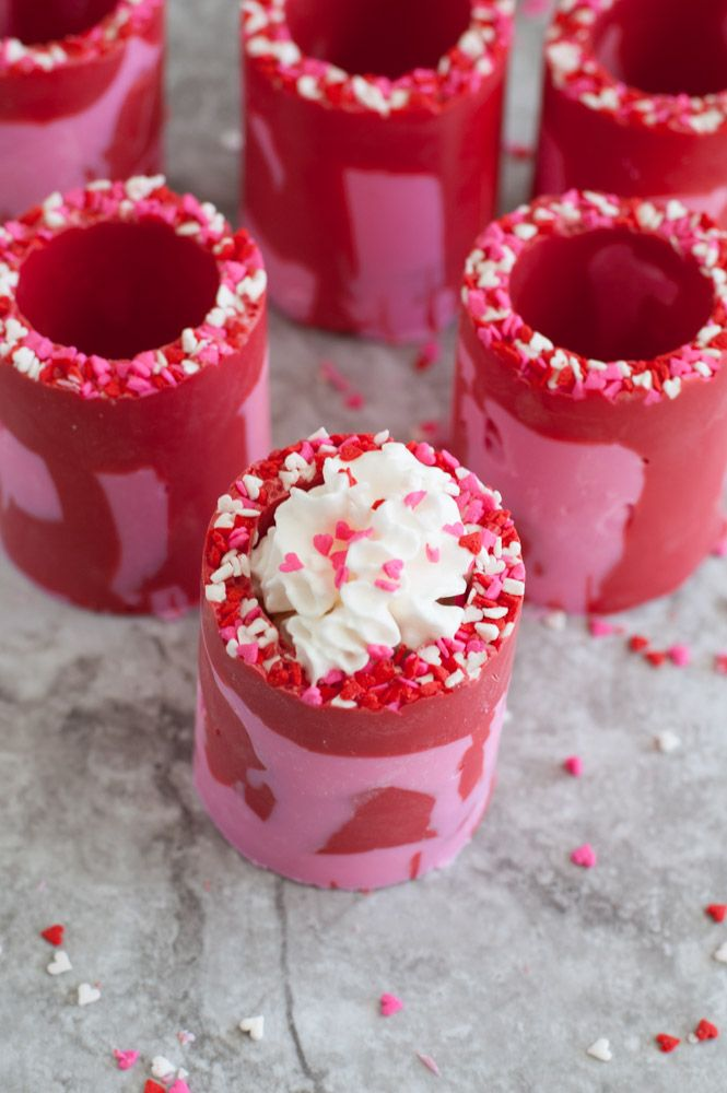 Valentine\'s Day Chocolate Candy Shot Glasses | UpShox Food ...