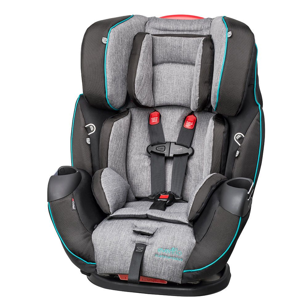 Evenflo Symphony Dlx Platinum All In One Convertible Car Seat Archer Car Seats Baby Car Seats Convertible Car Seat