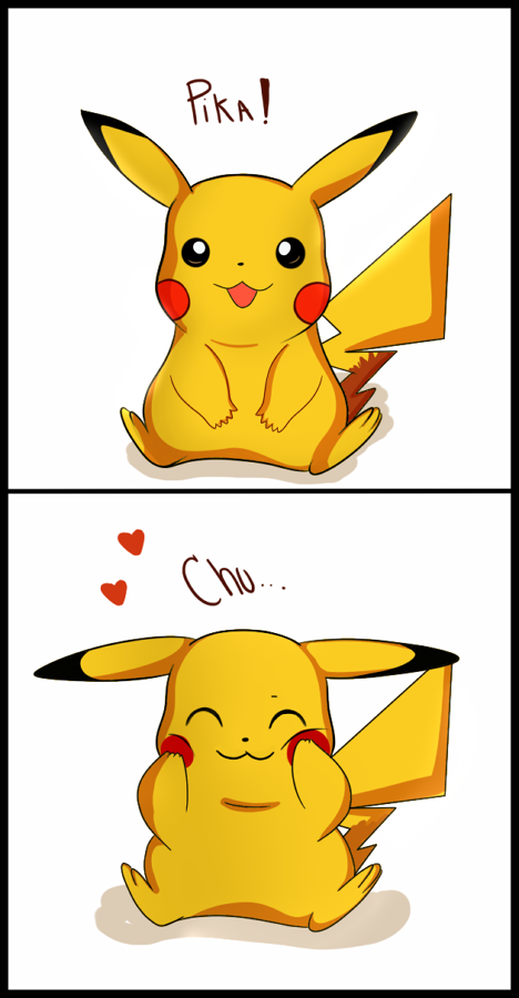 Pika Chu By Unibatdeviantartcom On At Deviantart Pikachu