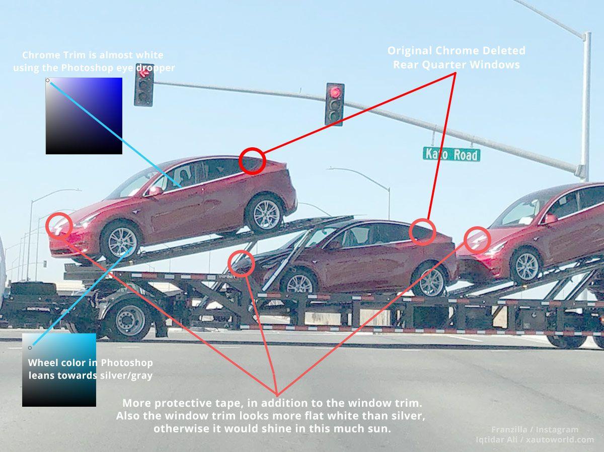 Tesla Model Y Prototypes With New Wheels Spotted Near Tesla