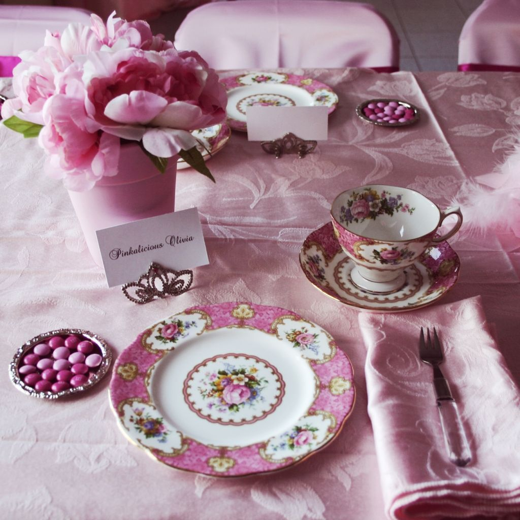 now THIS is pinkalicious!!! (With images) Pretty tea