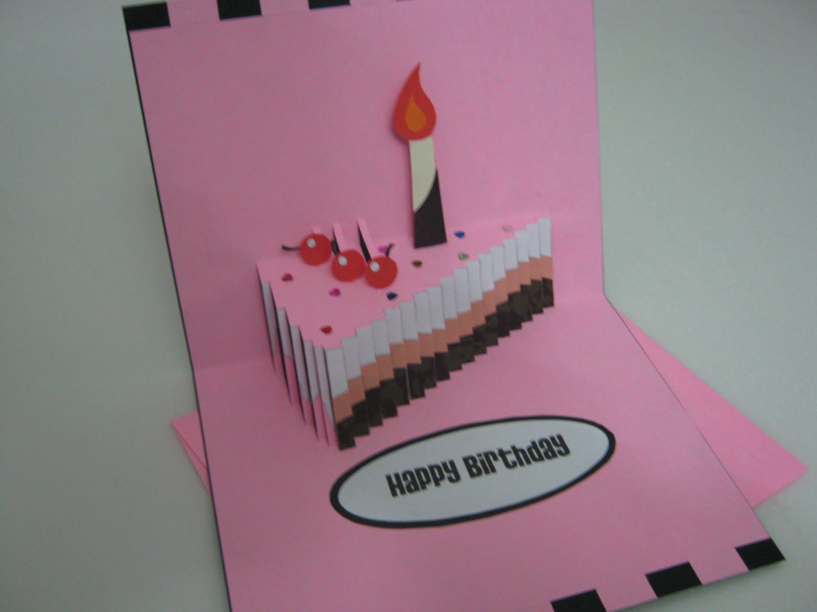 Pop Up Birthday Card Birthday Card Template Birthday Card Design Handmade Birthday Cards