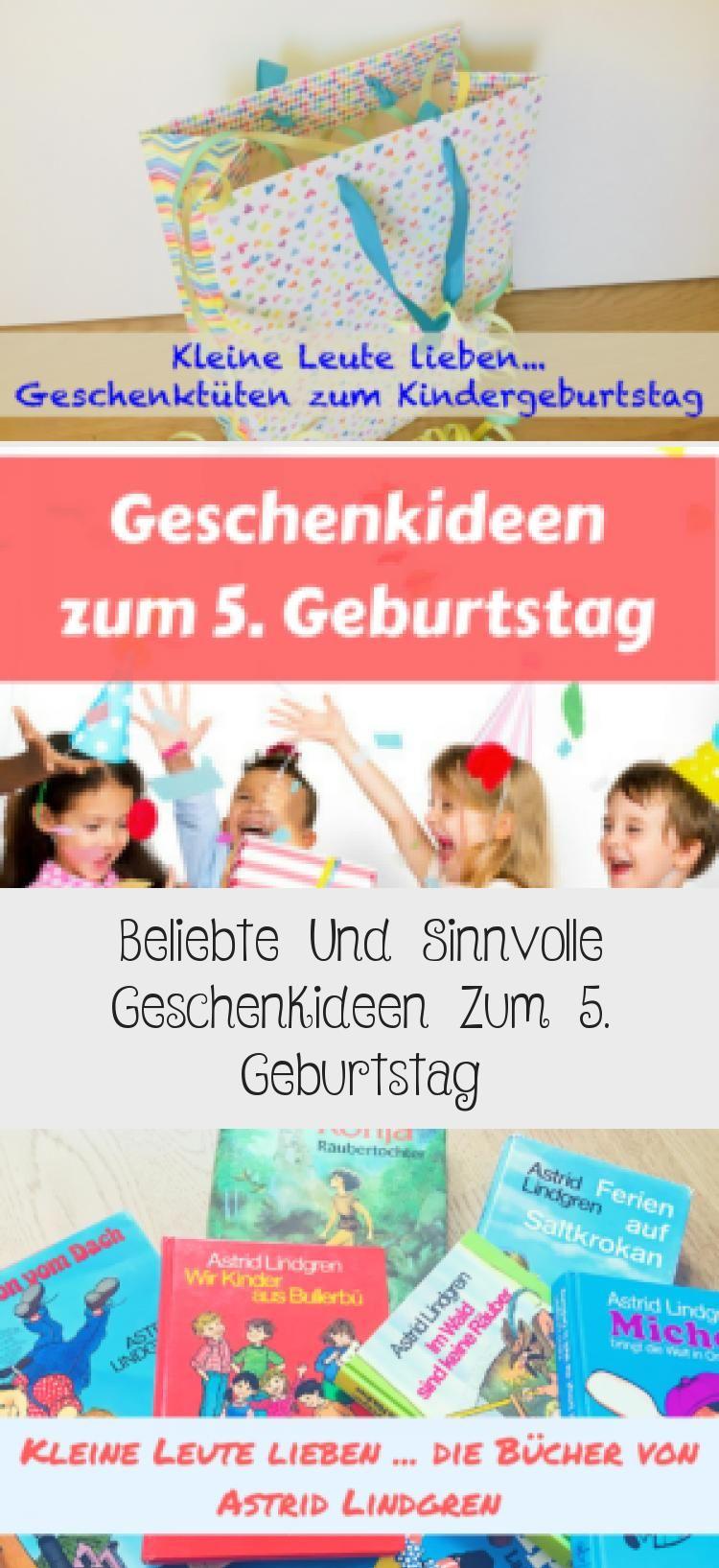 Beliebte Und Sinnvolle Geschenkideen Zum 5 Geburtstag