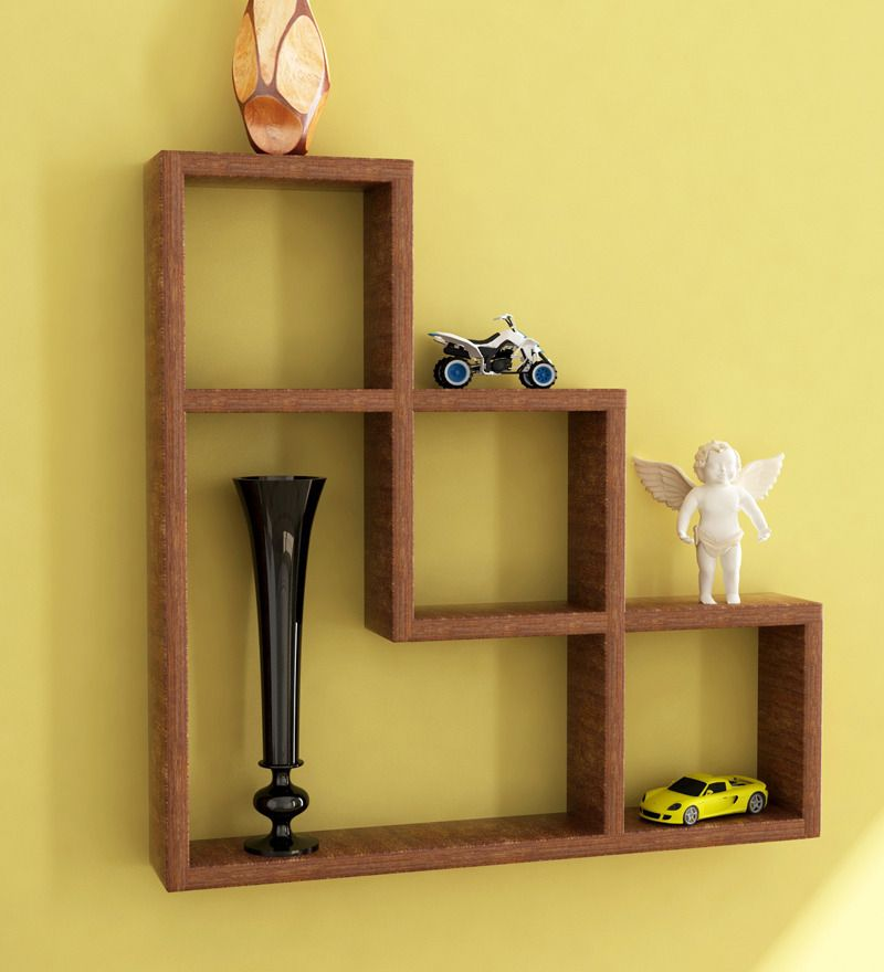 Shelves For Home Decor Ideas: L Shaped Wall Shelf By Home Sparkle Online