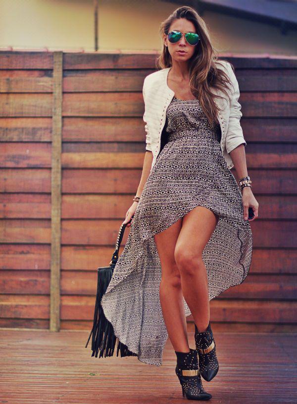 Vestido/Dress: My philosophy . Boots: Schutz . Bolsa/Bag: Wet Seal . Jacket: Limited
