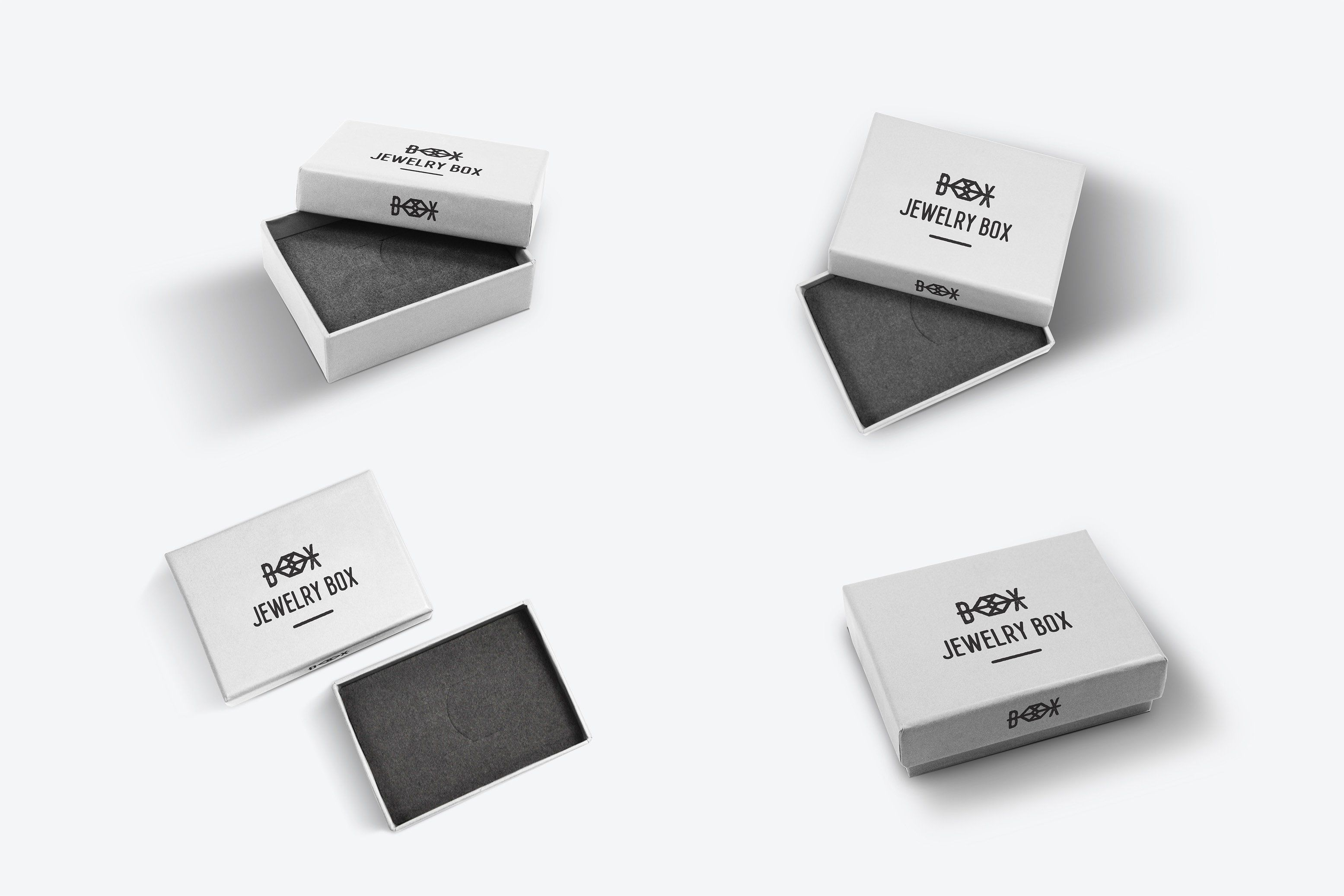 Download Jewelry Box Mock Up Work Showcasing Perfect File Mockup Jewelry Box Merchandise Design