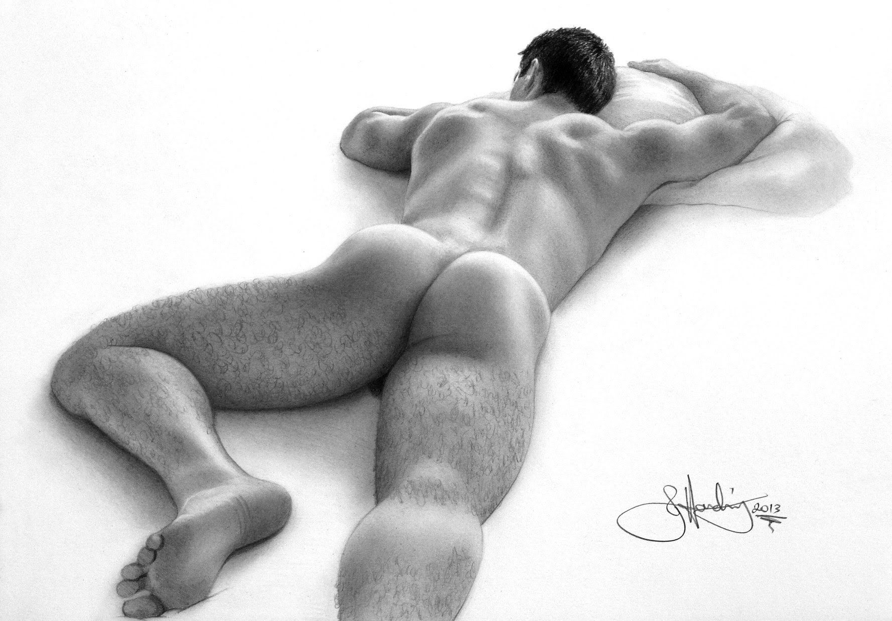 male drawings Nude