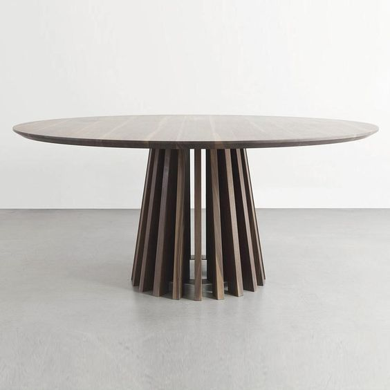 Pin By Inho Cho On 현경 식탁 Large Round Dining Table