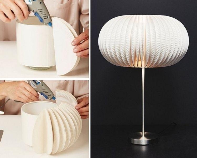 papier für lampen basteln