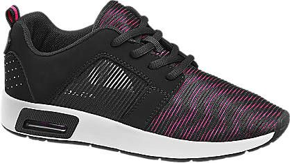 Sneaker Von Venice In Pink Deichmann Com Pembe Siyah Ve Kadin