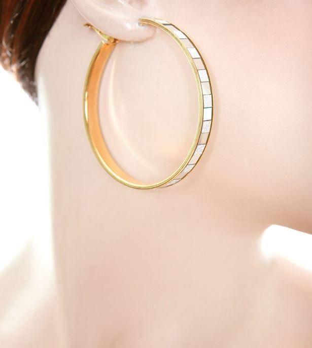 Gold Hoop Earrings Price $6 00 Image Makers Jewelry