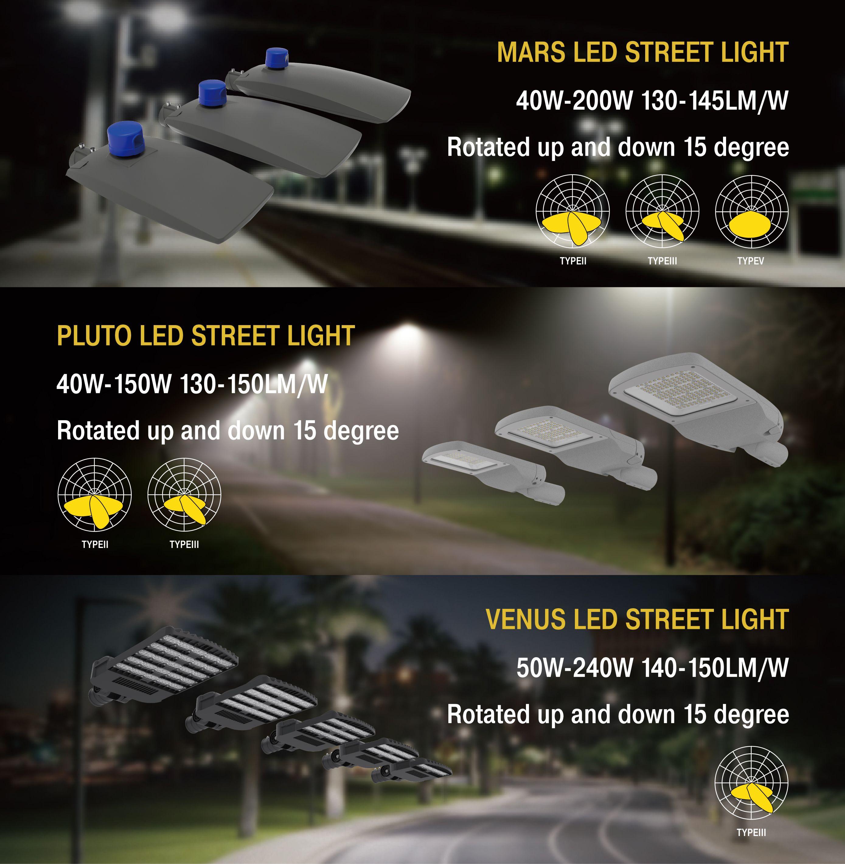 Led Street Lights Light Fixtures