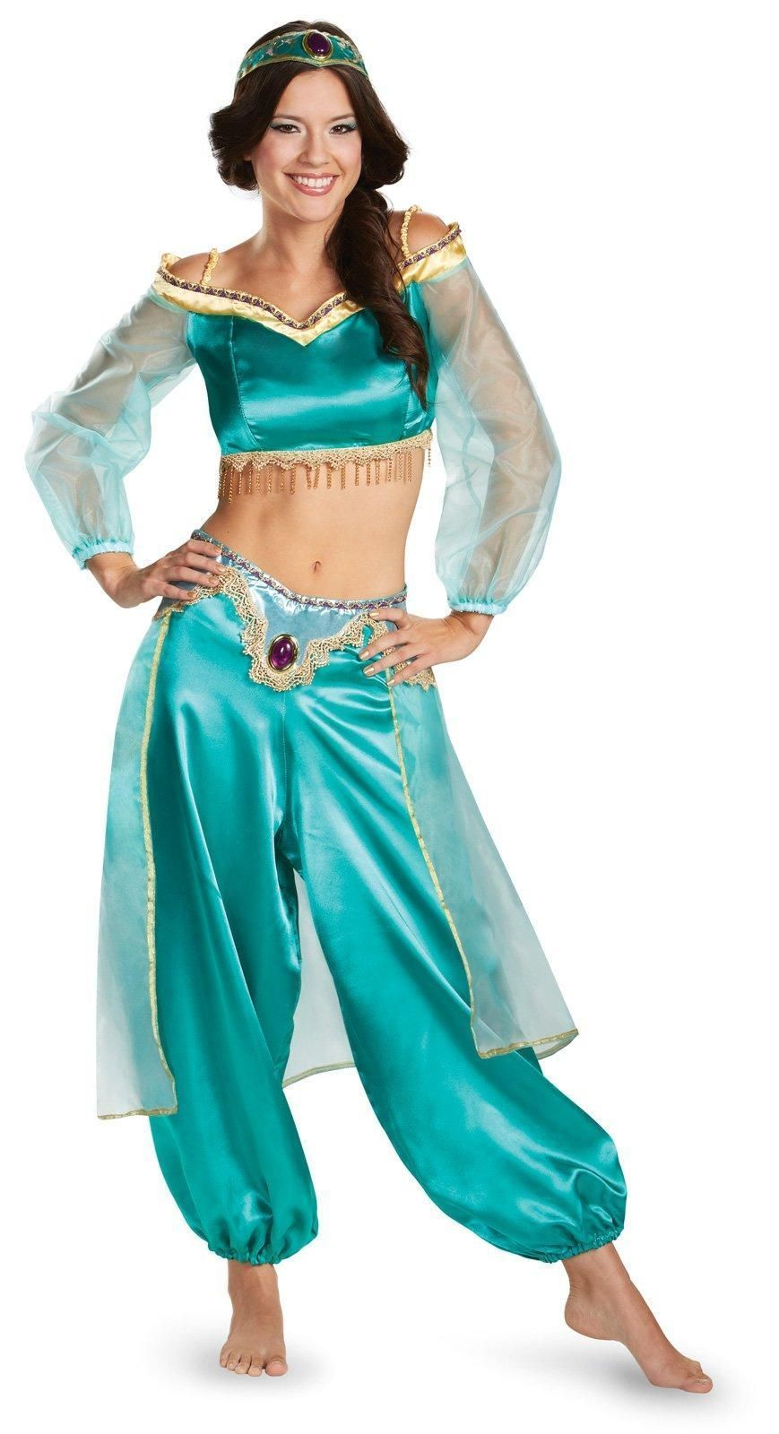 Disney Princess Jasmine Fab Prestige Adult Costume  Disney princess