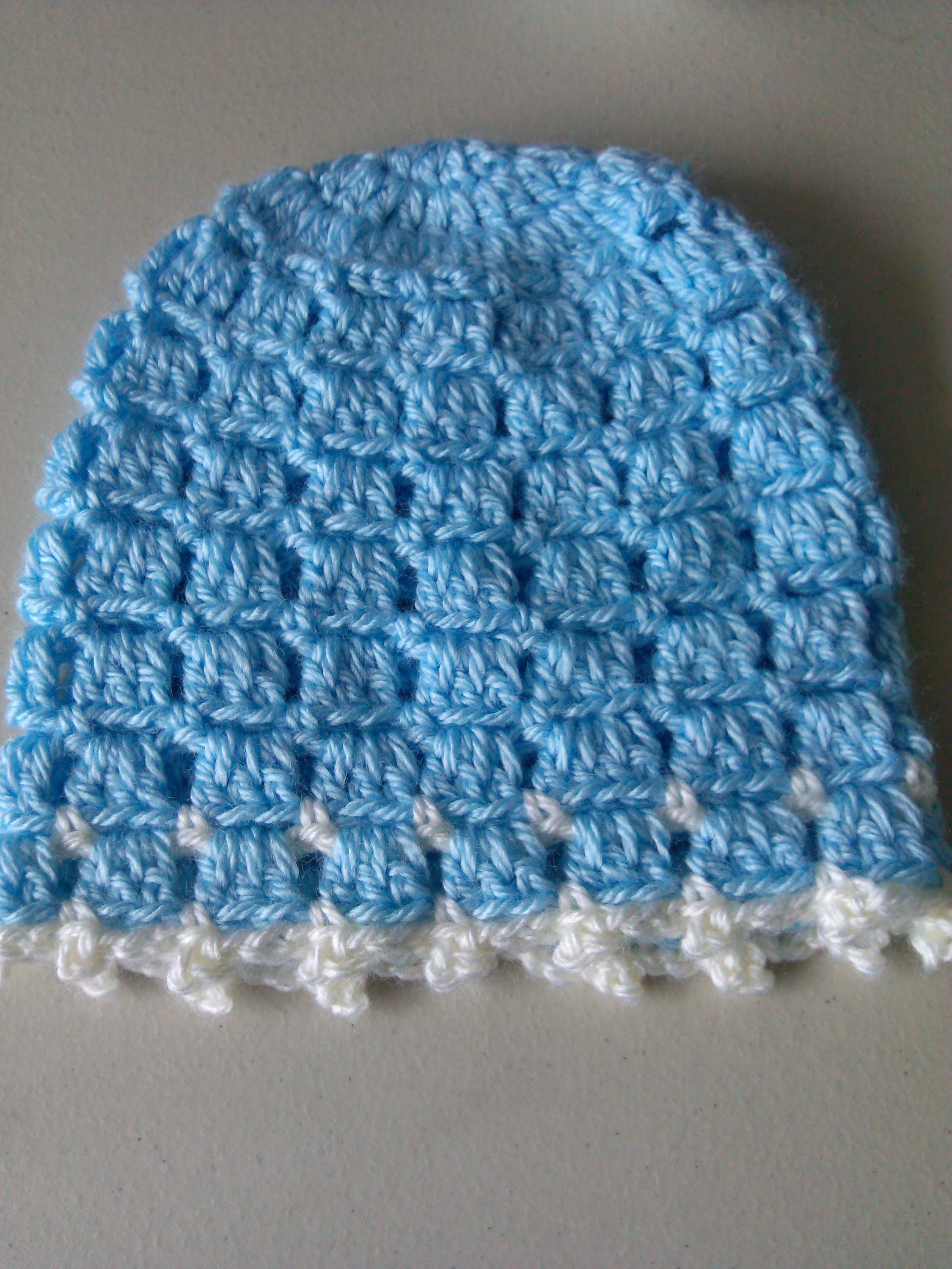 e23b7e14a Crochet Easy and unique stitch hat tutorial | Scarfs to crochet ...