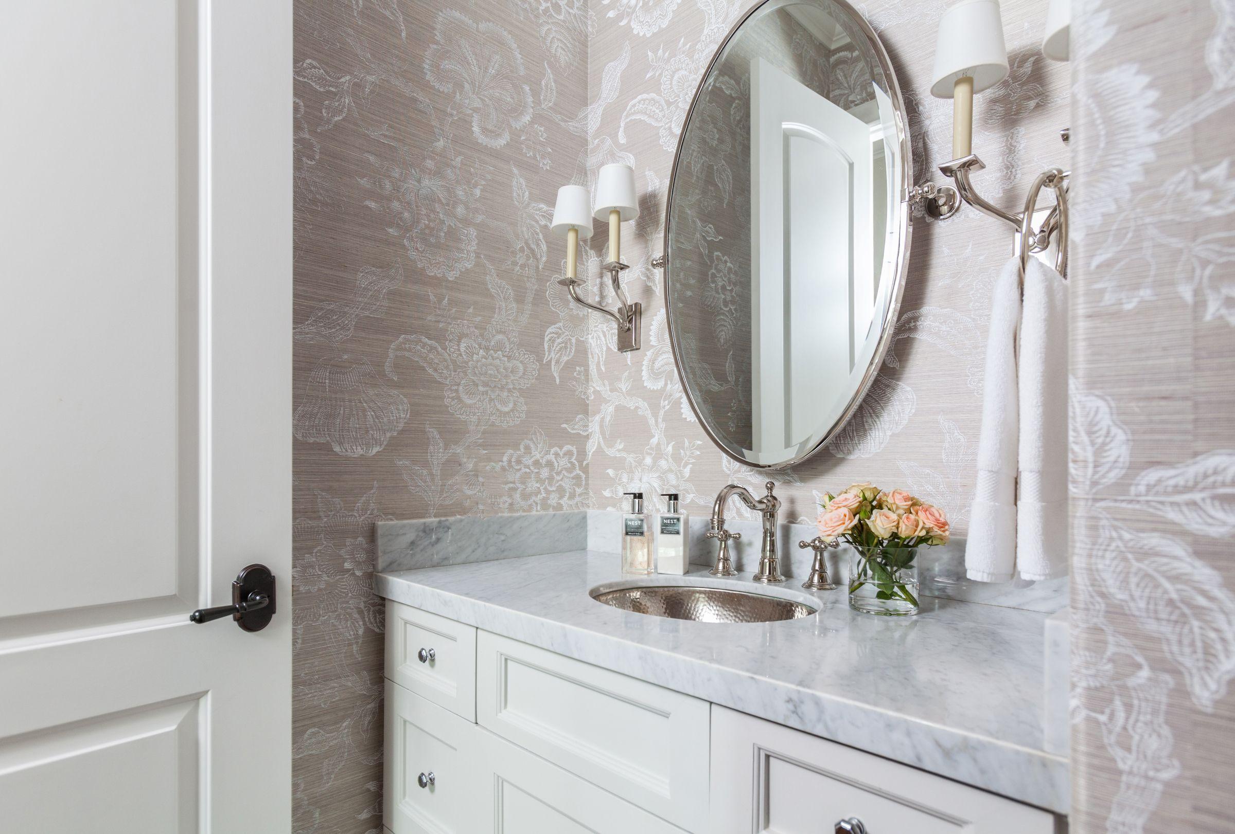 Elegant and pretty powder room! Via Marie Flanigan Interiors. | NW ...