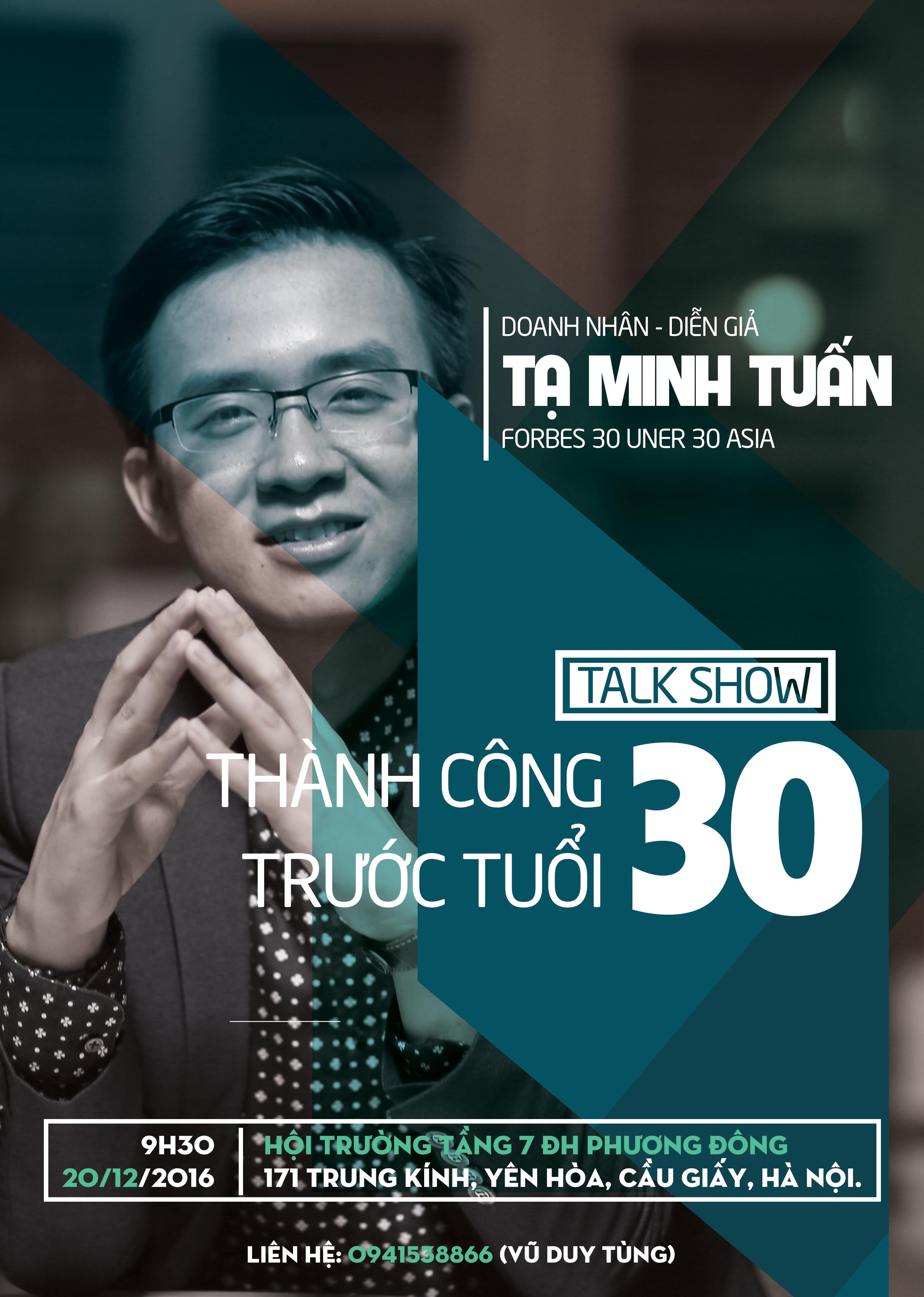 success before 30 talk show