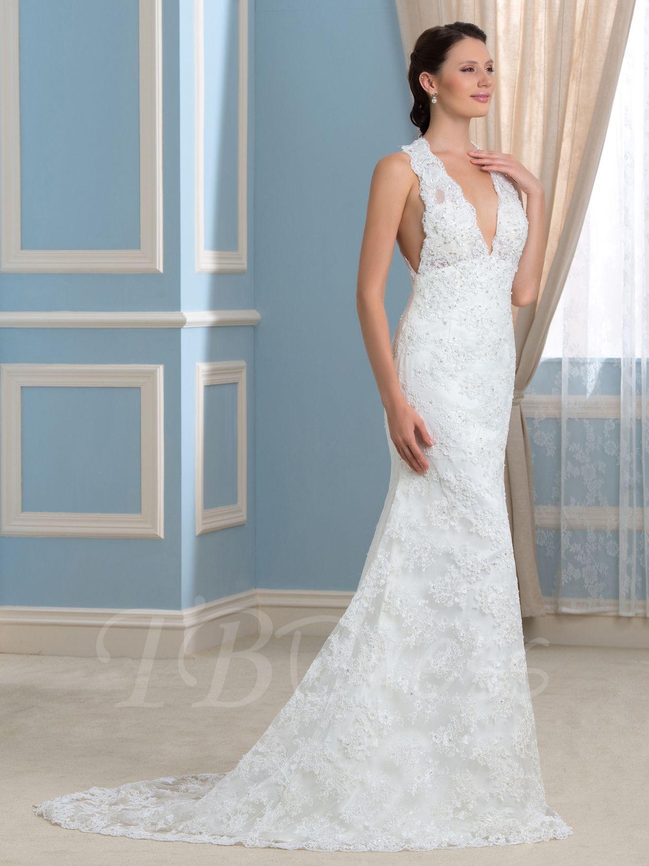 99+ V Neck Backless Wedding Dress - Wedding Dresses for Guests Check ...