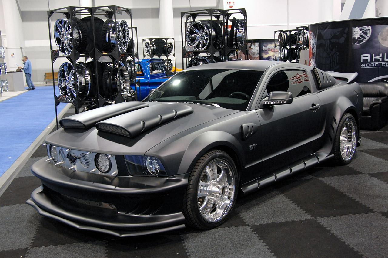 Mustangs unlimited sema 2007 mustang para todos los gustos