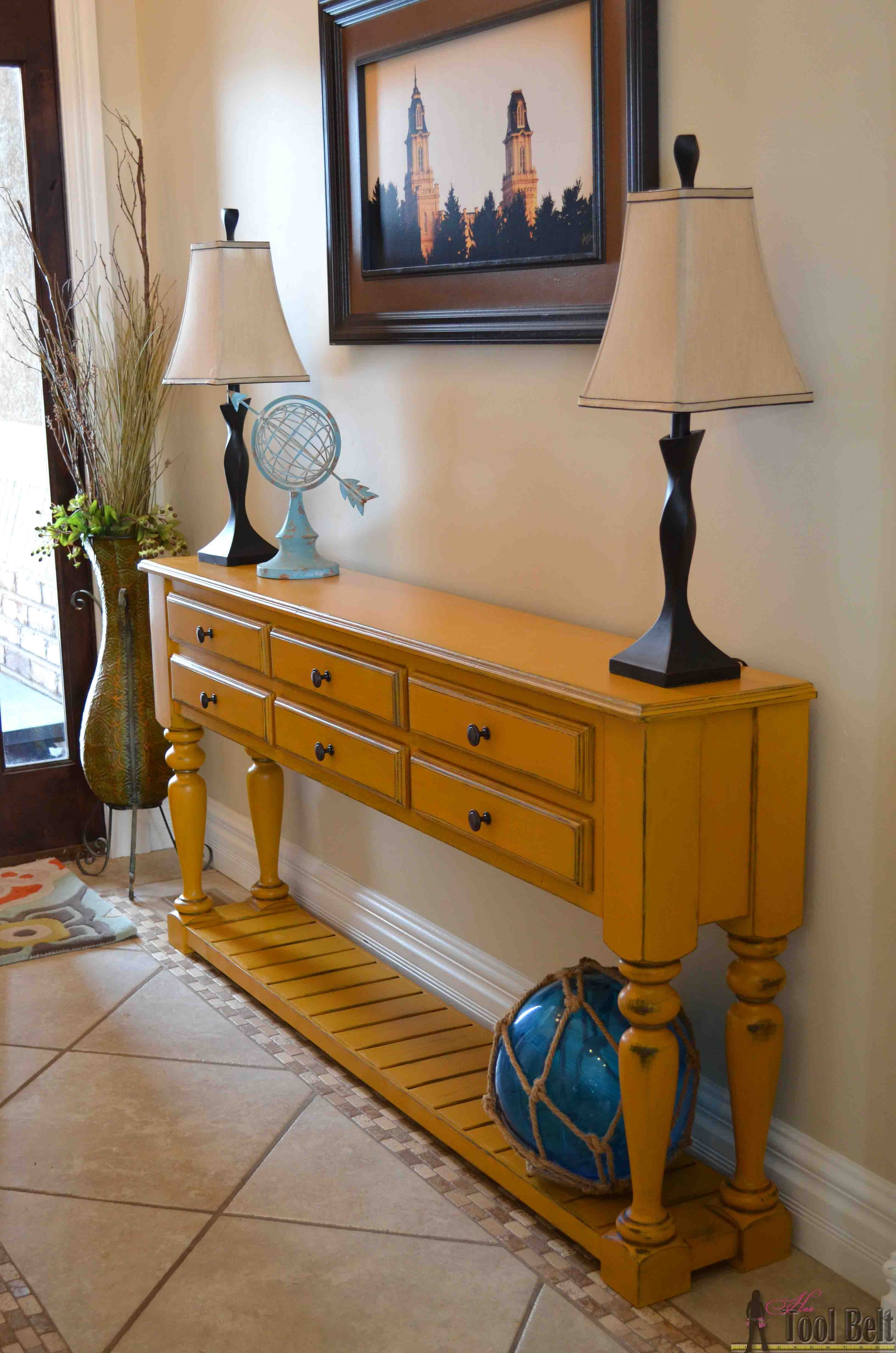 Grand island custom console plans ambientes pinterest building furniture geotapseo Image collections