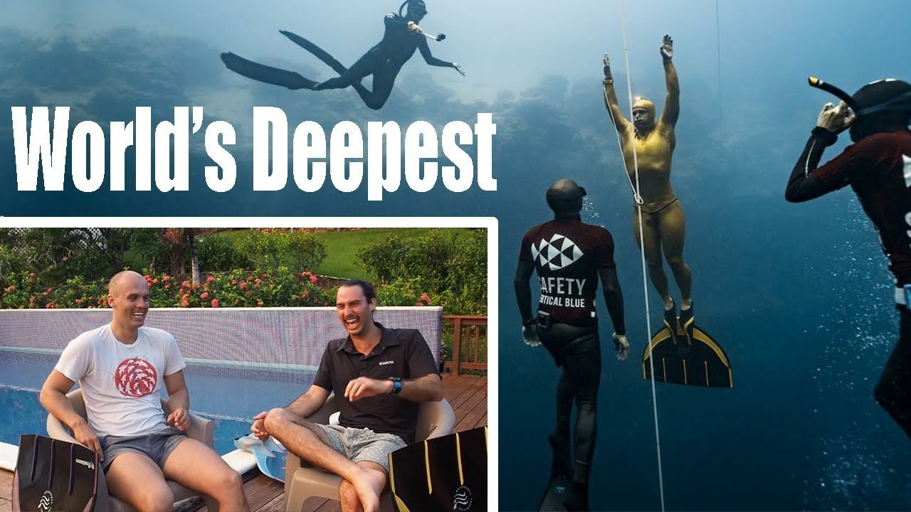 A Conversation with the World's DEEPEST Freediver Alexey