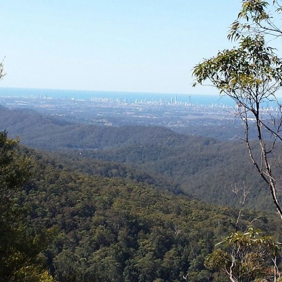 Over looking the Gold Coast