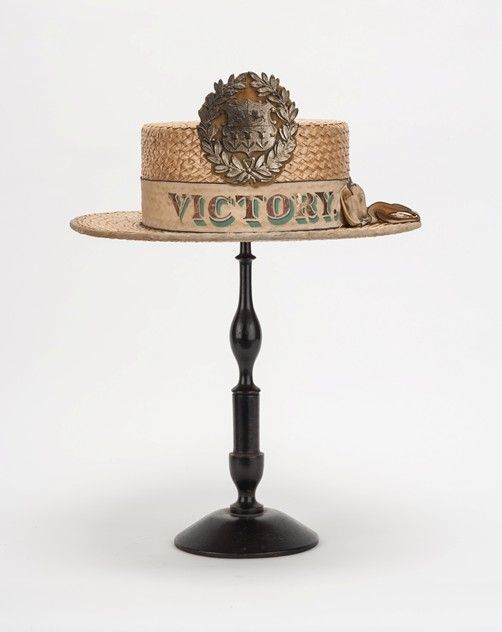 Eton Boater For The Victory Decorative Collective