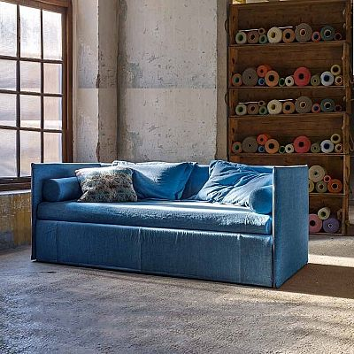 Best Bright Blue Ander Sofa Bed By Veneran Furniture Design 400 x 300