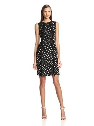 Nina Ricci Women's Short Dress (Black Ecru)