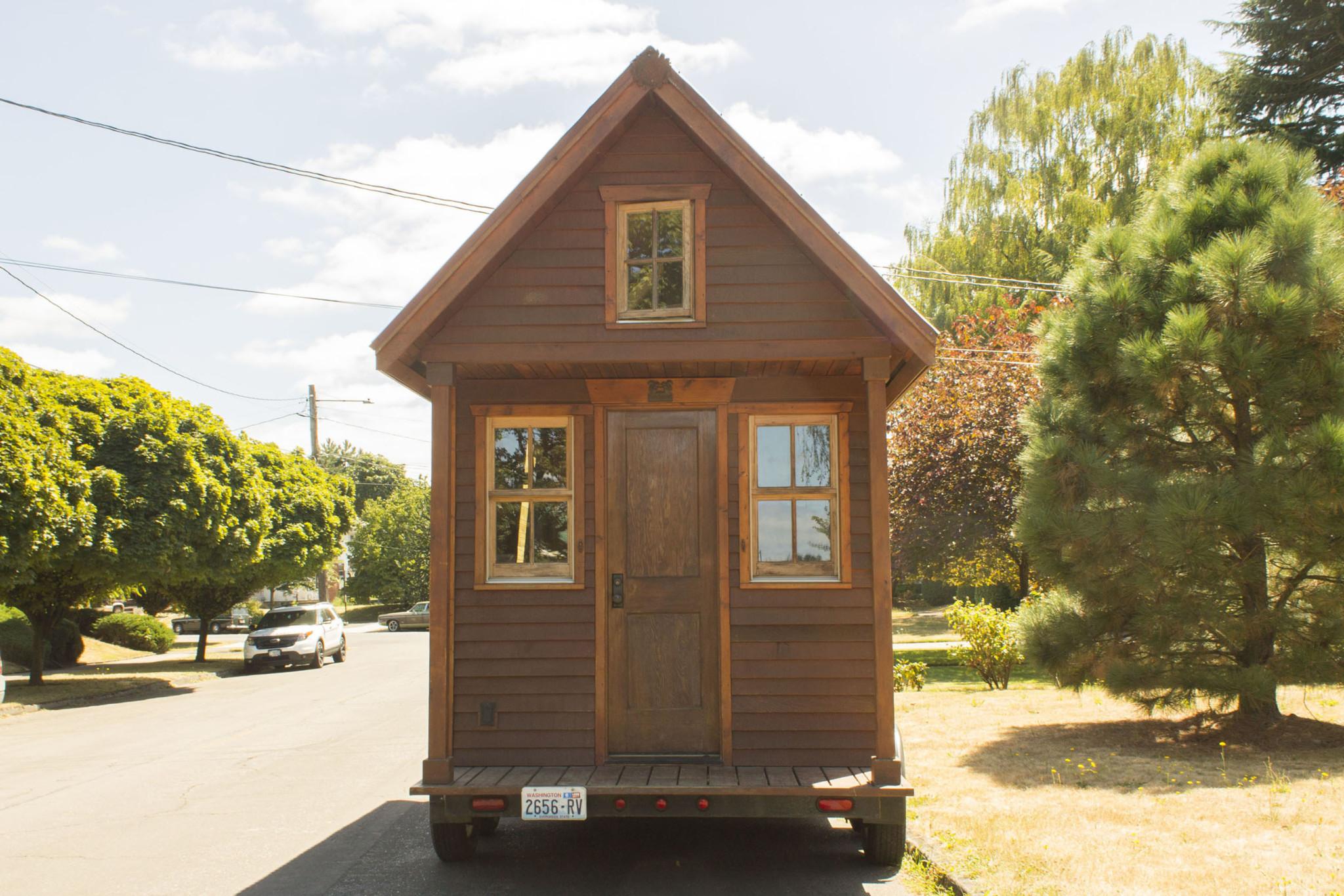 The Hikari Box Tiny House Plans 暮らし
