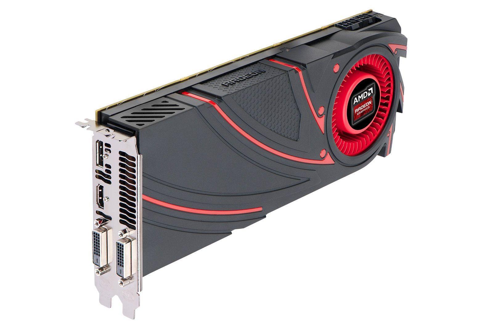 Amd Radeon R9 290x Hawaii Gpu Graphic Card Amd Nvidia