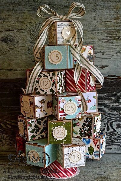 40 DIY Christmas Advent Calendars - Nikki's Plate