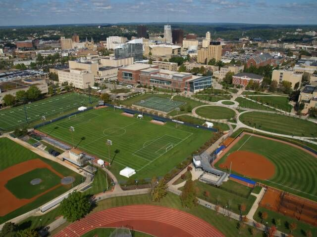 The University Of Akron Athletic Fields University Of Akron The University Of Akron Akron