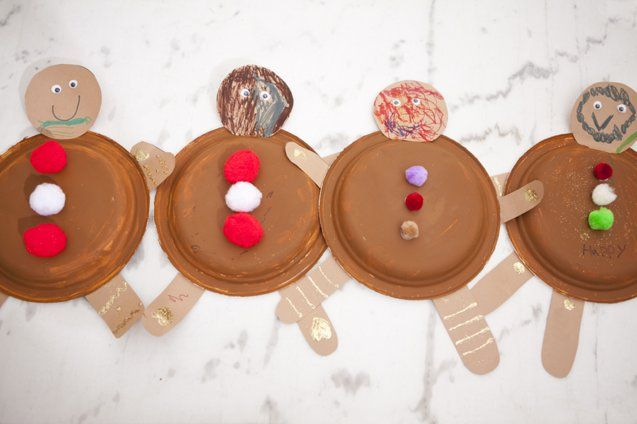 create The Classic Christmas Crafts // paper plate gingerbread men & create The Classic Christmas Crafts // paper plate gingerbread men ...
