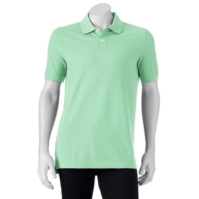 Men's Croft & Barrow® Tailored-Fit Pique Polo, Size: