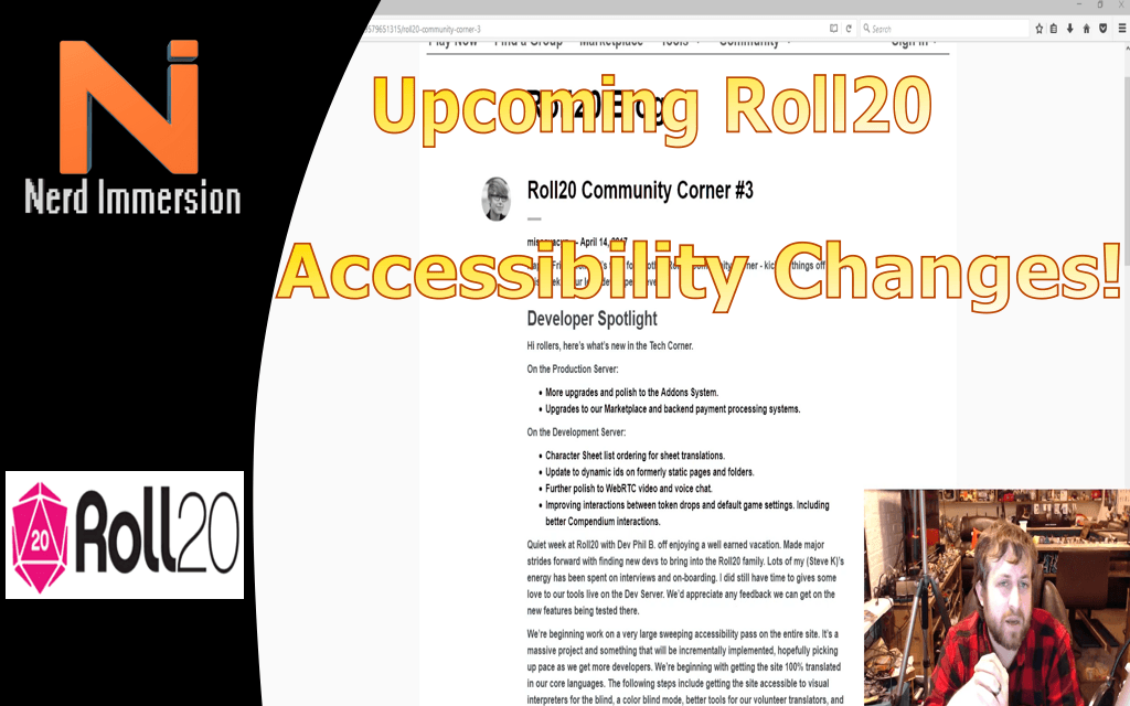 Upcoming Roll20 Accessibility Changes!