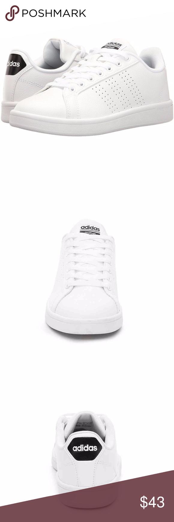 adidas neo cloudfoam vantaggio scarpe bianche nwt scarpe bianche