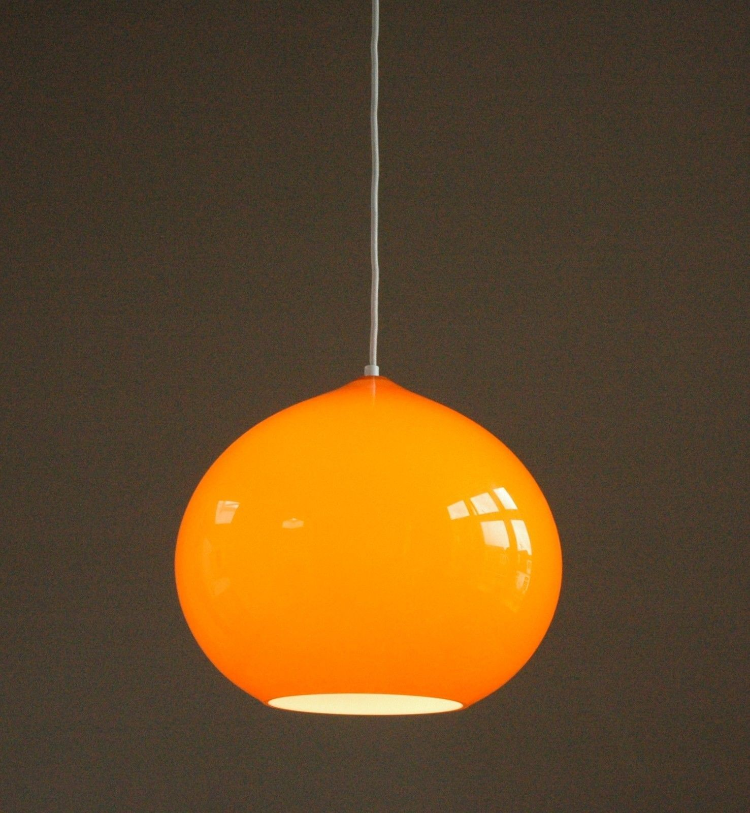 Orange Pendant Lighting