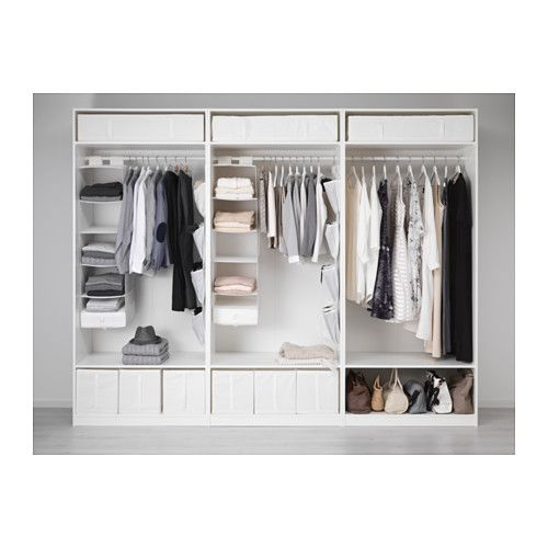 Pax Wardrobe White Bergsbo Vikedal In 2018 Bedroom Ideas