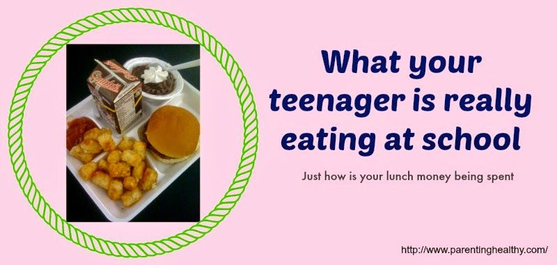 Parenting Healthy: What Your Teenager is Really Eating at School