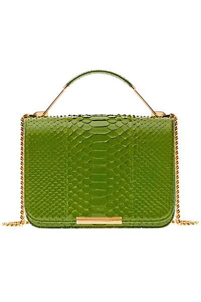 Emilio Pucci ~ Spring Green Leather Clutch 2014
