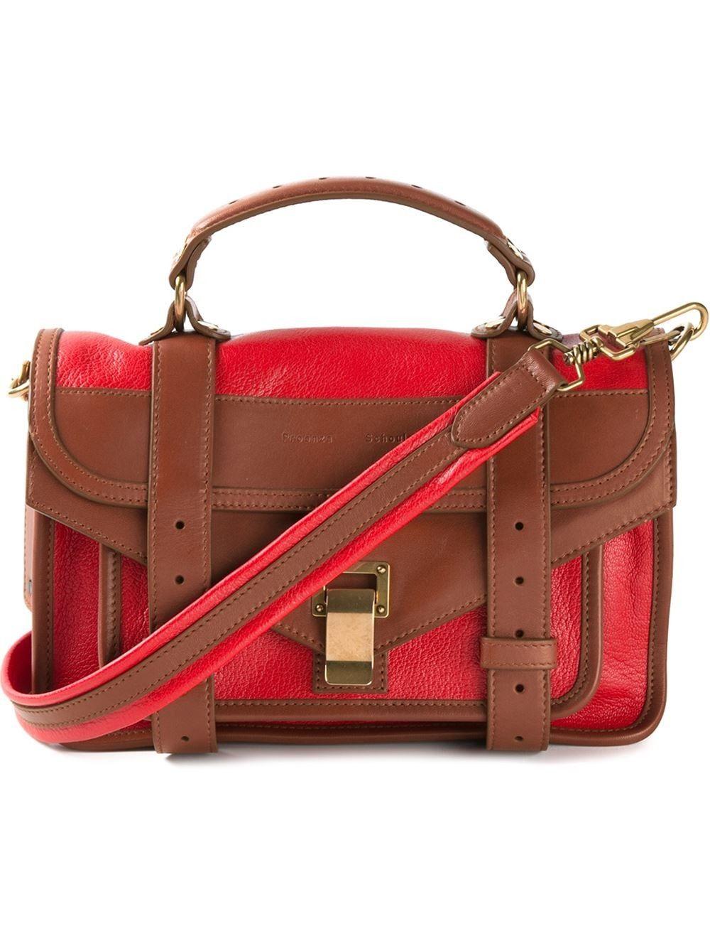 2a35de1ea PROENZA SCHOULER Tiny 'Ps1' Satchel. #proenzaschouler #bags #shoulder bags  #hand bags #leather #satchel #