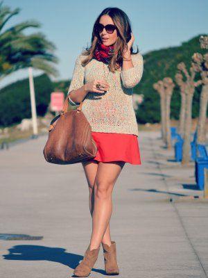 e63f8e949 misspeonies Outfit Otoño 2013. Combinar Bolso Marrón Camel Carolina ...